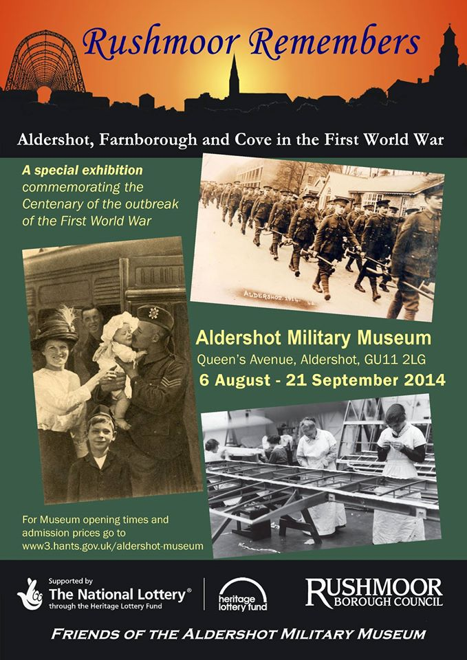 Friends of the Aldershot Military Museum - Projects - RR